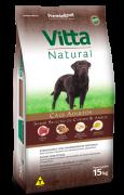 Ração Vitta Natural Cães Adultos Carne 15kg