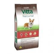 Ração Vitta Natural Cães Adultos Raças Pequenas Carne 15kg