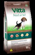 Ração Vitta Natural Cães Adultos Raças Pequenas Frango 15kg