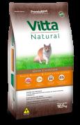 Ração Vitta Natural Gatos Castrados Frango 10kg