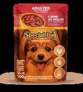 Sachê Special Dog Adulto Carne Raças Pequenas 100 g