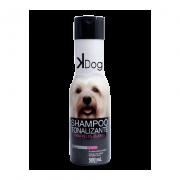 Shampoo Tonalizante Pelos Claros K-Dog 500ml