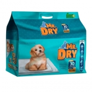 Tapete Higiênico para Cães Mr Dry c/ 30 Unidades