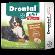 Vermífugo Bayer Drontal para Cães 35 kg - 2 comprimidos