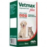 Vermífugo Vetmax Plus Supensão Oral 30 ml