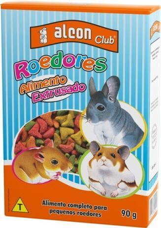 Alimento Extrusado para Roedores Alcon Club 90g  - Agropet Mineiro