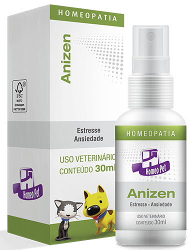 Anizen Homeo Pet 30ml  - Agropet Mineiro
