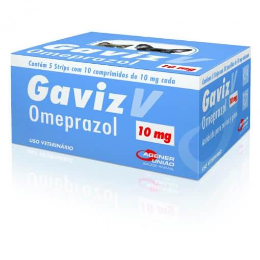 Antiácido Gaviz V C/ 10 Comprimidos  - Agropet Mineiro