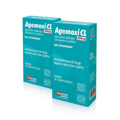 Antibiótico Agemoxi CL