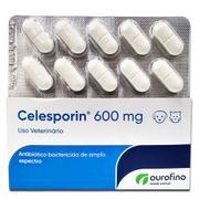 Antibiótico Celesporin 600 mg - Cartela  c/ 10 Comprimidos