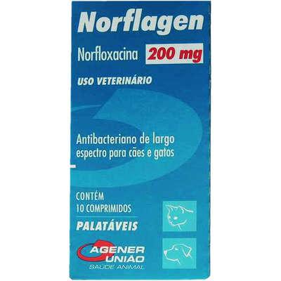 Antibiótico Norflagem 200mg
