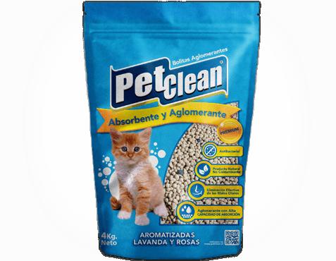 Areia Higiênica Aglutinante para Gatos Pet Clean Aromatizada  - GROSSA  - Agropet Mineiro