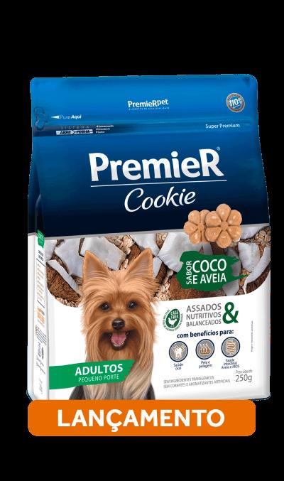 Biscoite Premier Cookie Adultos Coco e Aveia 250g