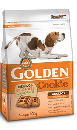 Biscoito Golden Cookie para Cães Adultos de Pequeno Porte