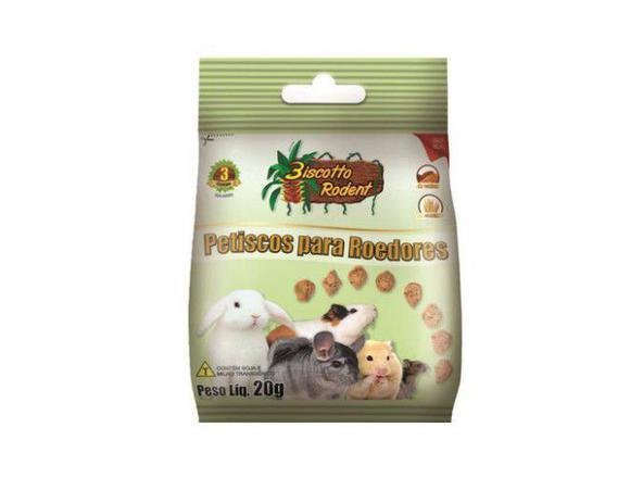 Biscoito para Roedores Biscotto Rodent 20g