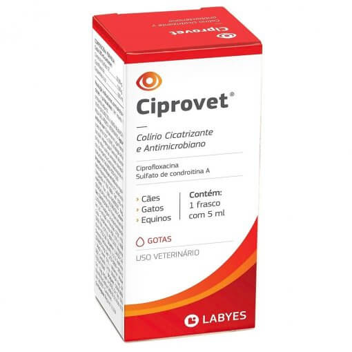 Colírio Ciprovet 5mL