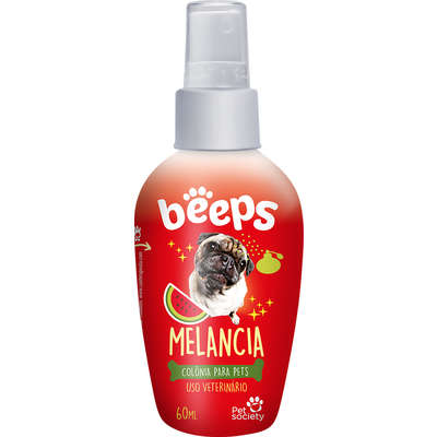 Colônia Pet Beeps Melancia 60ml