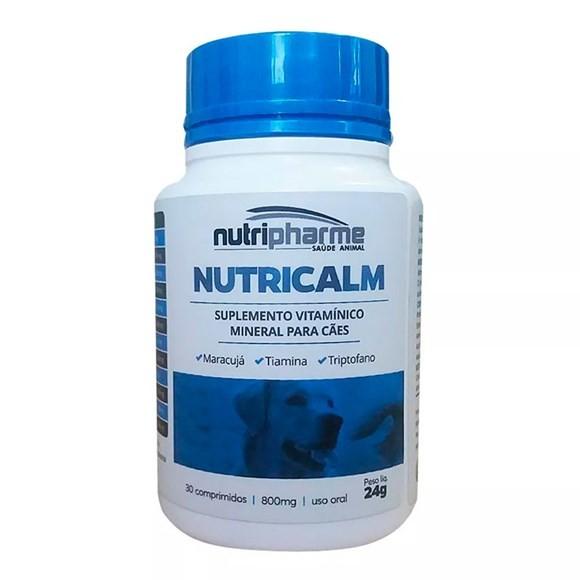 Nutricalm 30 comp - Suplemento para Cães Agitados