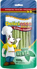 Ossinho Deliciosso Palito Fino Sabor Menta 100 gr