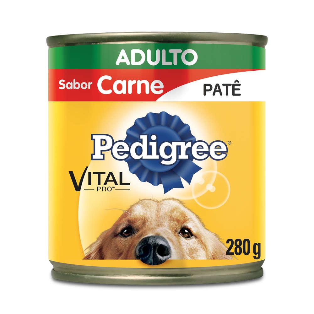 Pedigree Lata Adulto Sabor Carne - Patê
