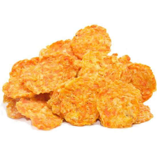 Petisco Natural Cannix - Chips de Frango e Legumes 130g  - Agropet Mineiro