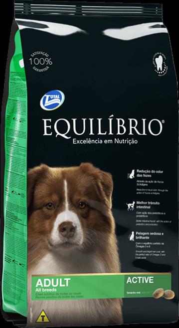 Ração Equilibrio Cães Adultos Raças Médias 15kg