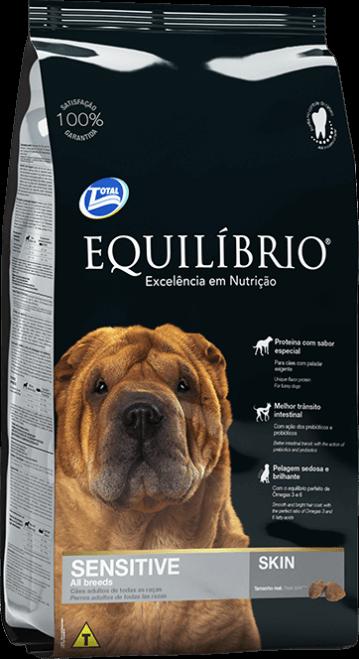 Ração Equilibrio Cães Adultos Sensíitive 15Kg  - Agropet Mineiro