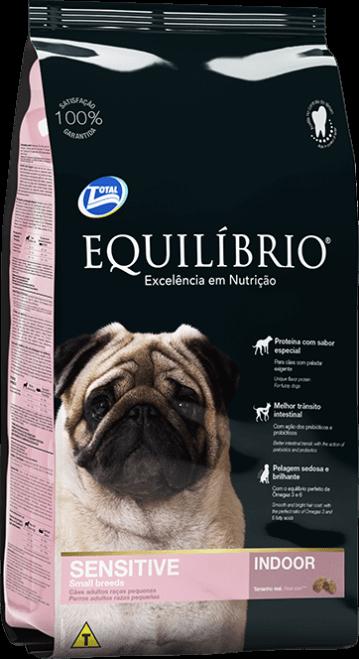 Ração Equilibrio Cães Adultos Sensíveis Raças Pequenas