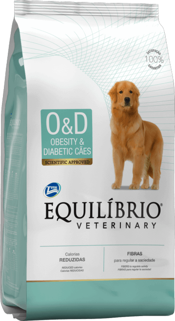 Ração Equilibrio Cães Obesos e Diabéticos