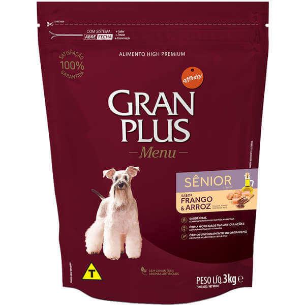 Ração Gran Plus Cães Sênior