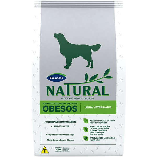 Ração Guabi Natural para Cães Obesos 10kg  - Agropet Mineiro