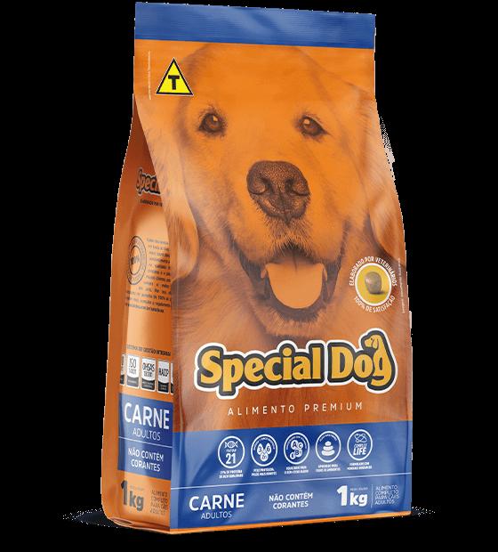 Ração para Cães Special Dog Carne Adulto  - Agropet Mineiro