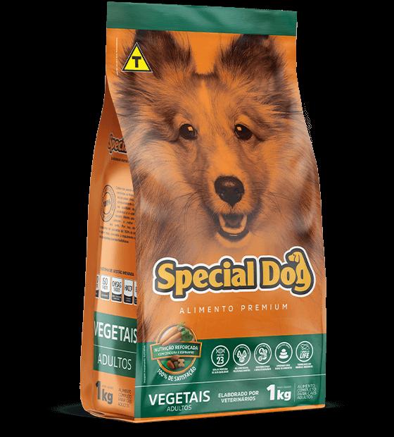 Ração para Cães Special Dog Vegetais Adulto