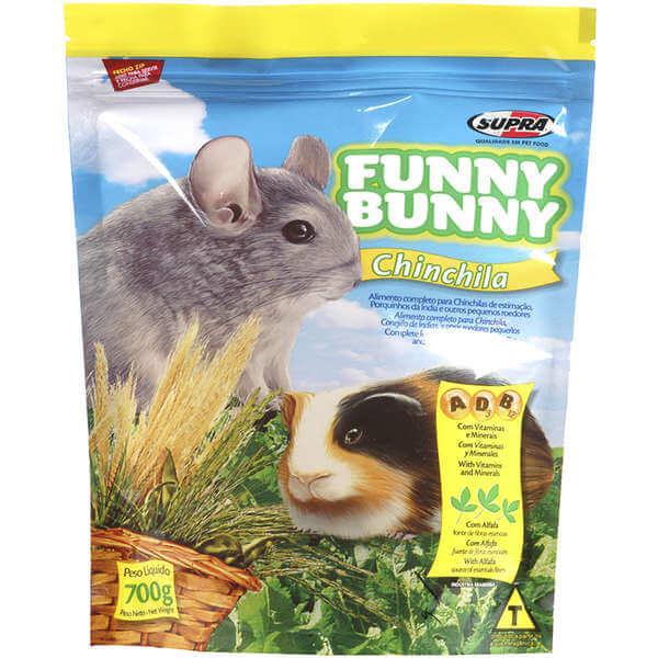Ração para Chinchila Funny Bunny 700g  - Agropet Mineiro