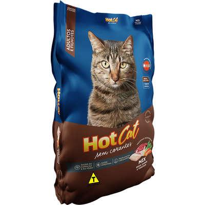 Ração para Gatos HotCat Mix 25kg