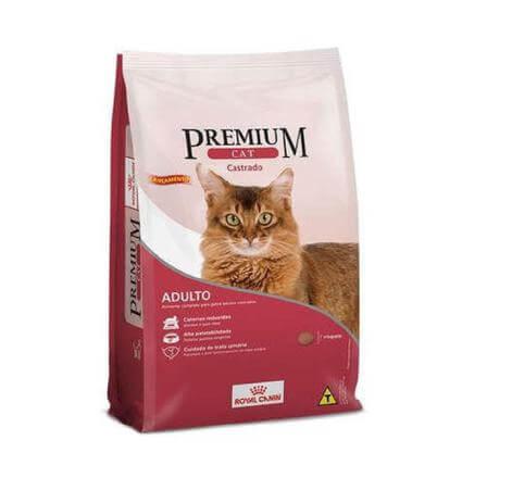 Ração Premium Cat Gatos Castrados 10kg