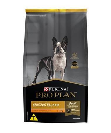 Ração Pro Plan Cães Reduced Calorie Pequeno Porte  - Agropet Mineiro