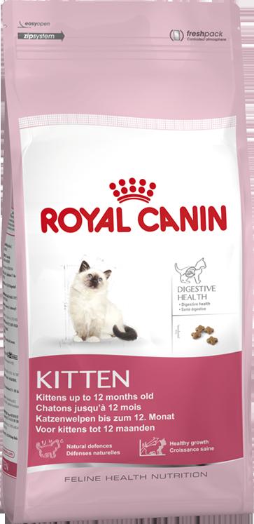 Ração Royal Canin Kitten para Gatos Filhotes até 12 meses de Idade