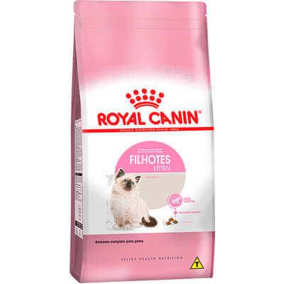 Ração Royal Canin Kitten para Gatos Filhotes até 12 meses de Idade  - Agropet Mineiro