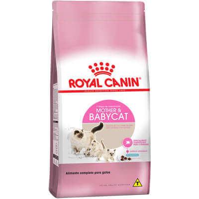 Ração Royal Canin Mother e Baby para Gatos Filhotes de 1 a 4 Meses de Idade