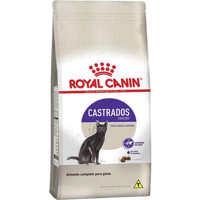 Ração Royal Canin Sterilised para Gatos Castrados até 7 anos de Idade