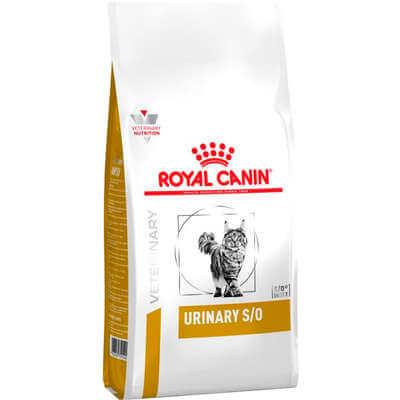 Ração Royal canin Urinary Feline S/O para Gatos  - Agropet Mineiro