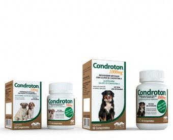 Regenerador Articular Vetnil Condroton - 60 Comprimidos  - Agropet Mineiro