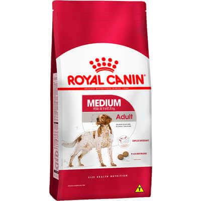 Royal Canin Medium Adulto 15 kg  - Agropet Mineiro