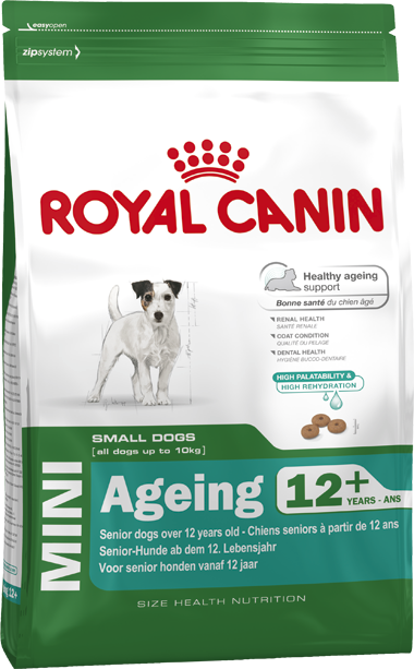 Royal Canin Mini Ageing 12+  - Agropet Mineiro