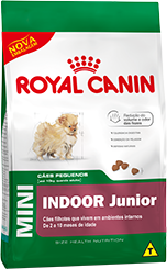 Royal Canin Mini Indoor Junior  - Agropet Mineiro
