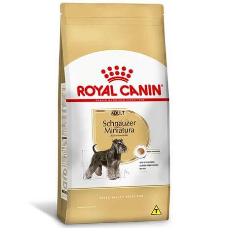 Royal Canin Schnauzer Miniatura Adulto  - Agropet Mineiro