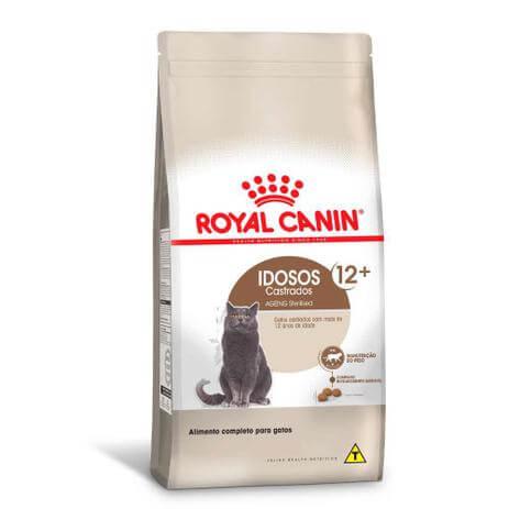 Royal Canin Sterilised 12 + Gatos Castrados acima de 12 Anos de Idade  - Agropet Mineiro