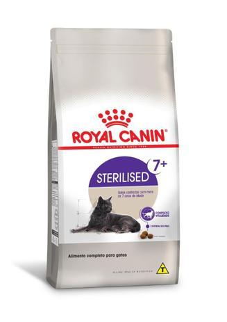 Royal Canin Sterilised 7+ para Gatos acima de 7 anos de Idade  - Agropet Mineiro