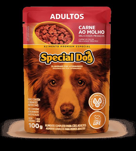 Sachê Special Dog Adulto Carne 100gr  - Agropet Mineiro